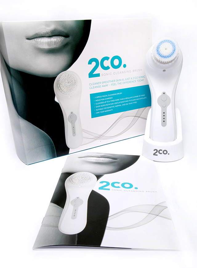 2co Sonic Cleansing Brush